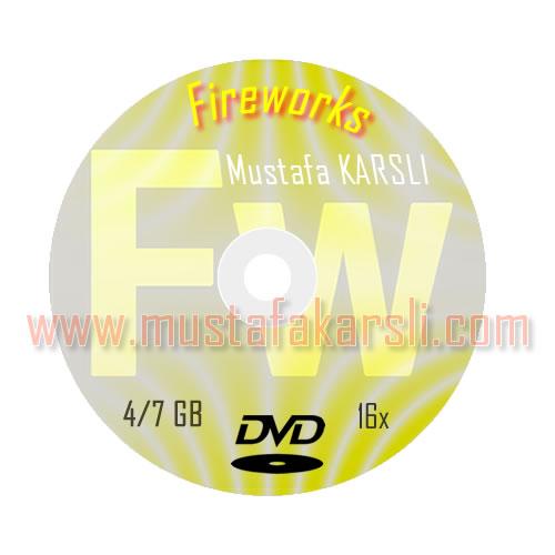 cd-dvd uygulama örneği fireworks