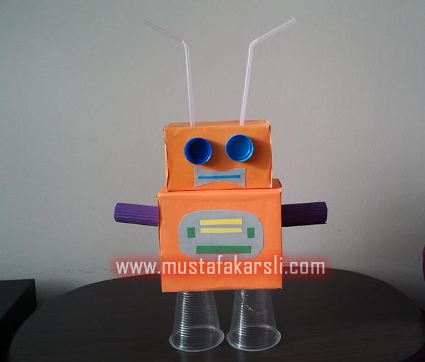 Kartondan Robot