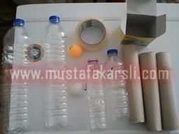 şişelerden top yuvarlama malzemeleri