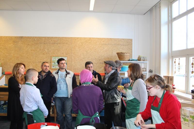 De Hoge Brug İş Okulu - Rotterdam/Hollanda