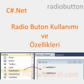 C# Net Radio Button Kullan�m� ve �zellikleri