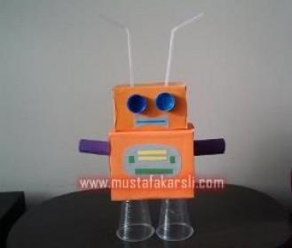 Kartondan Robot Yapalım