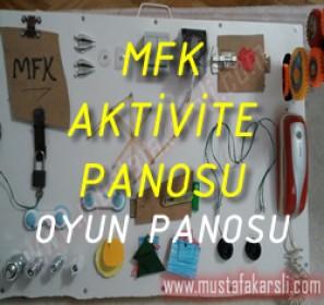 MFK Aktivite Panosu - Oyun Panosu