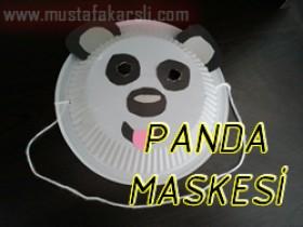 Panda Maskesi Yapalım