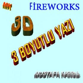 Fireworks ile 3 Boyutlu Yazı Yazma (3D Yazı)