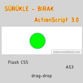 Action Script 3 Sürükle Bırak
