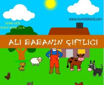 Öğrencimizden Ali Babanın Çiftliği Animasyonu
