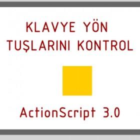 Action Script 3 Klavye Yön Tuşları Kontrolü