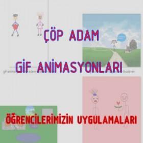 Öğrencilerimizden Gif Animasyon Uygulamaları