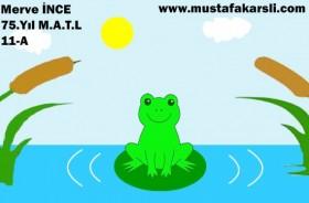 Öğrencimizden Küçük Kurbağa Animasyonu