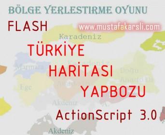 ��rencimizden T�rkiye Haritas� Yapbozu