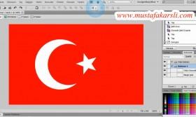 Fw Uygulama 1: Türk Bayrağı Çizimi