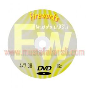 CD DVD Uygulaması 2 Fireworks Örnekler