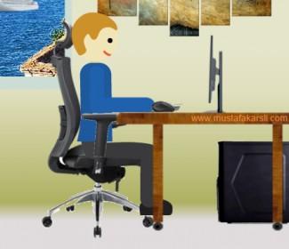 Bilgisayar Başında Nasıl Oturmalıyız?