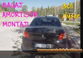 Peugeot 301 Bagaj Amortis�r Montaj�