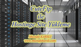 Cute FTP ile Hostinge Site Y�kleme (Web site upload)