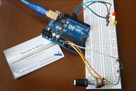 Arduino Zaman Ayarl� Trafik Lambas�
