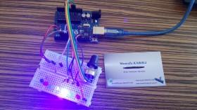 Arduino Pot ile Hız Ayarlı Kara Şimşek Devresi