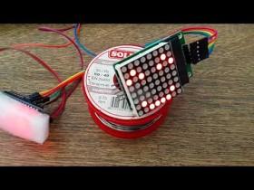 Arduino Toprak Nem Sensörü ve Dot Matrix ile İfade Gösterici