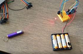 Arduino Lazer ve LDR ile Alarm Sistemi
