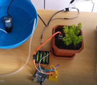 Arduino ile Otomatik Çiçek Sulama Sistemi