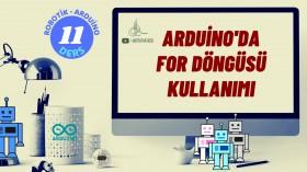 Robotik Arduino Eğitimi 11 for Döngüsü Kullanımı